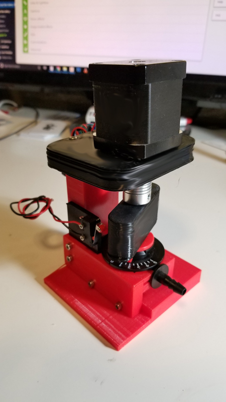 3D Printed Servo Valve Assembly Prototype