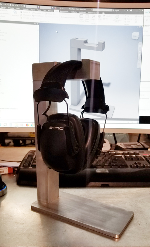 Billet Aluminum Headphone Stand
